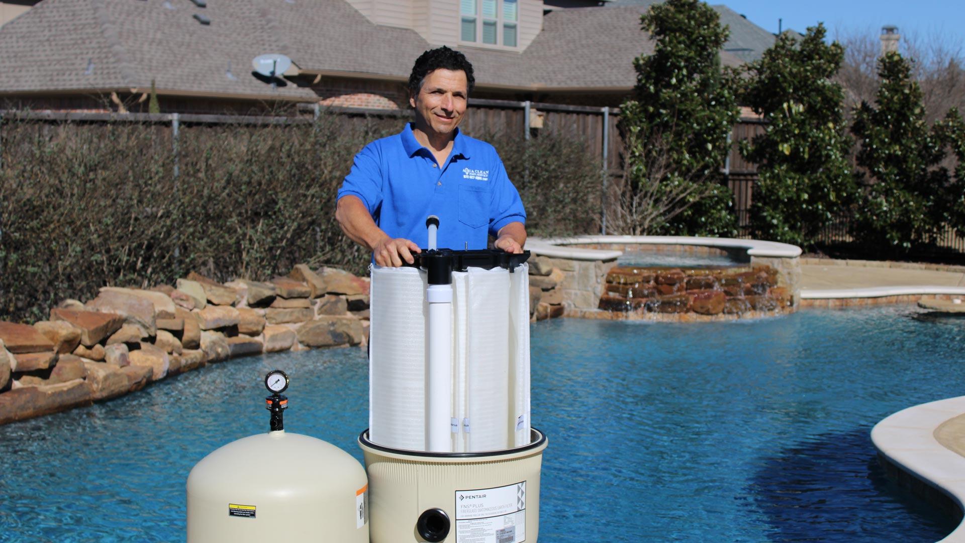 Pool Repair in Plano, Texas