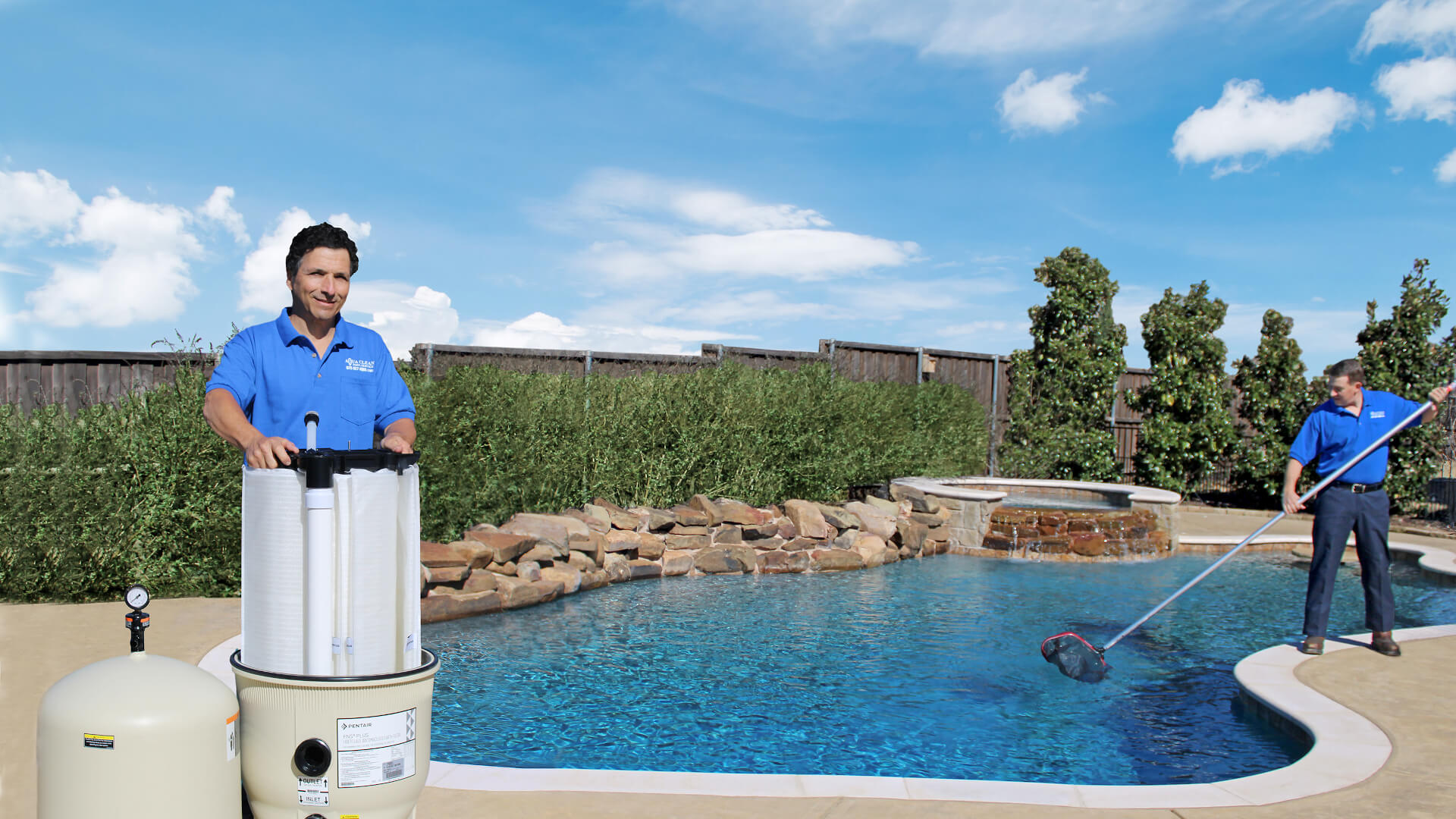 Aqua Clean Pool Service in Plano, TX