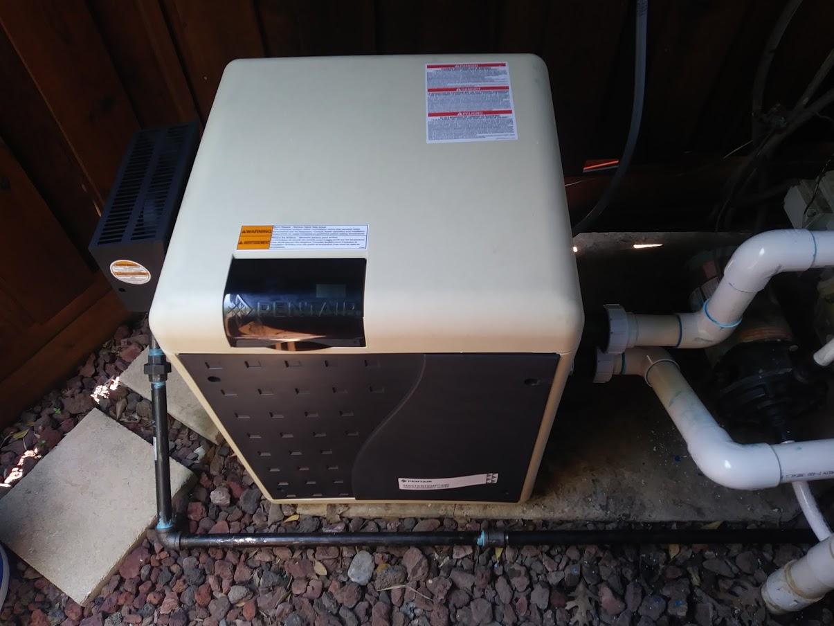 Pool Heater Installation 1
