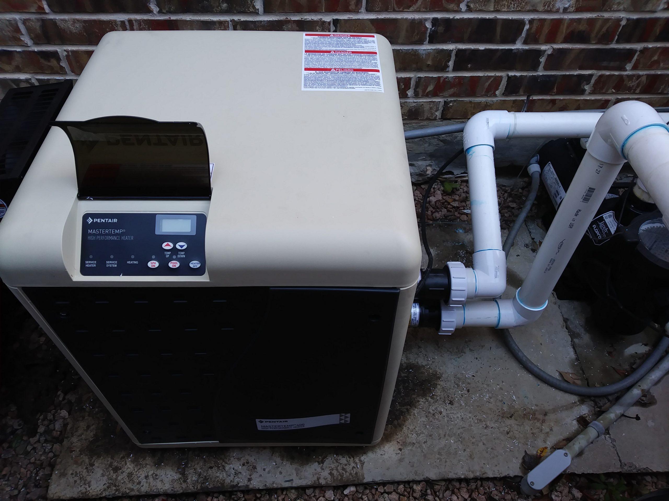 Pool Heater Installation 2